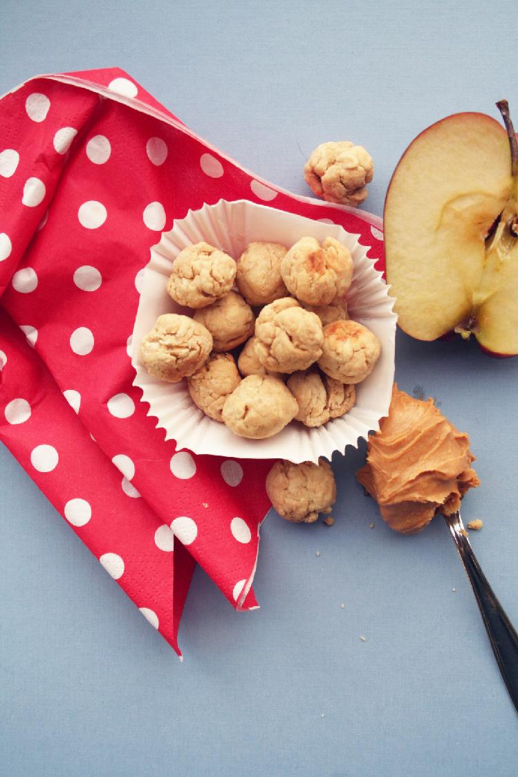Biscotti al burro di arachidi, praline saporitissime