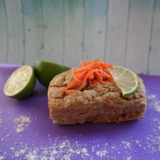Plumcake di carote e lime, profumato e saporito