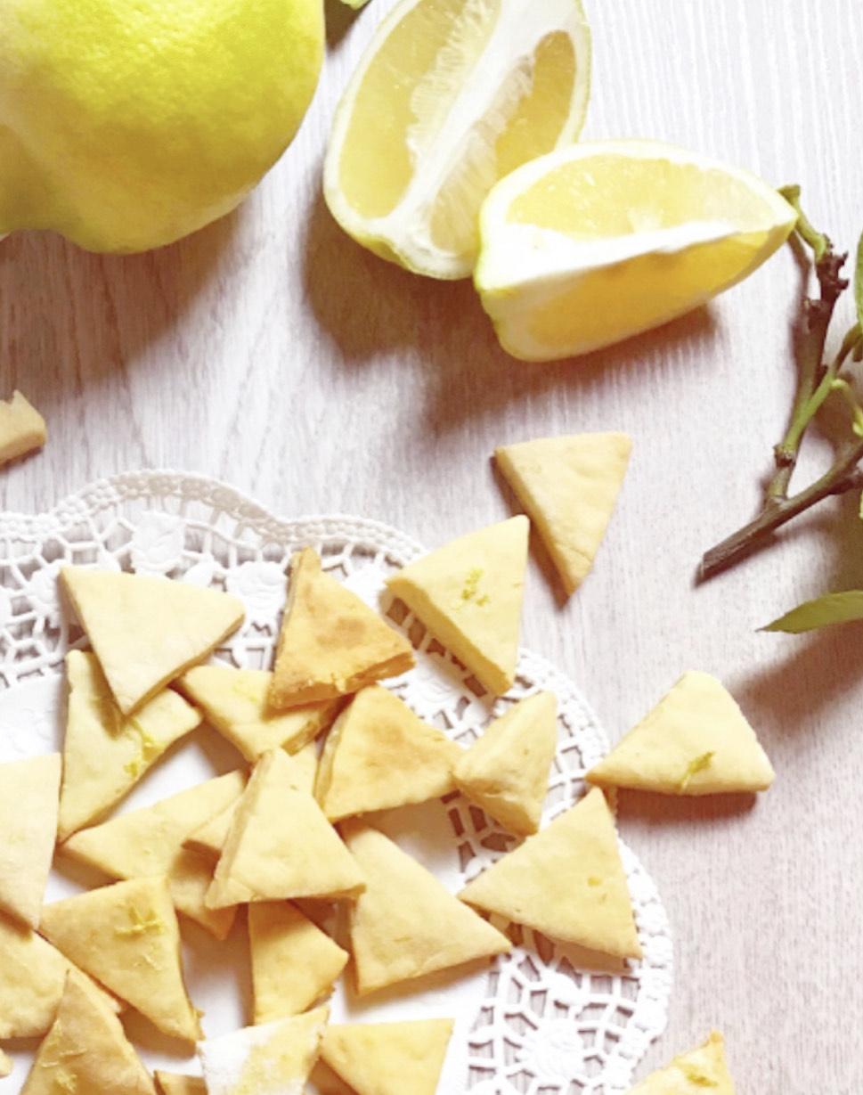 biscotti per cani al limone