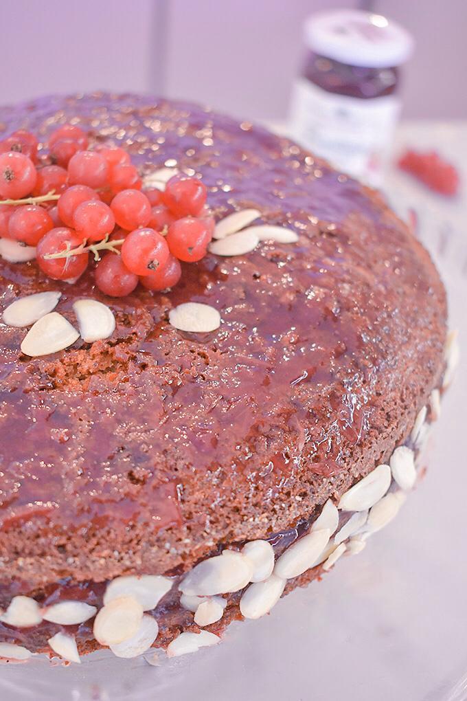 torta grano saraceno ribes