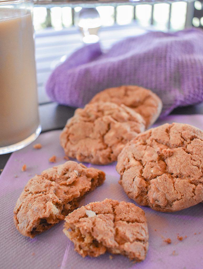 ricetta cookies cioccolato bianco