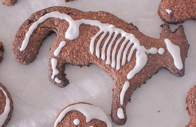 Biscotti di halloween per cani