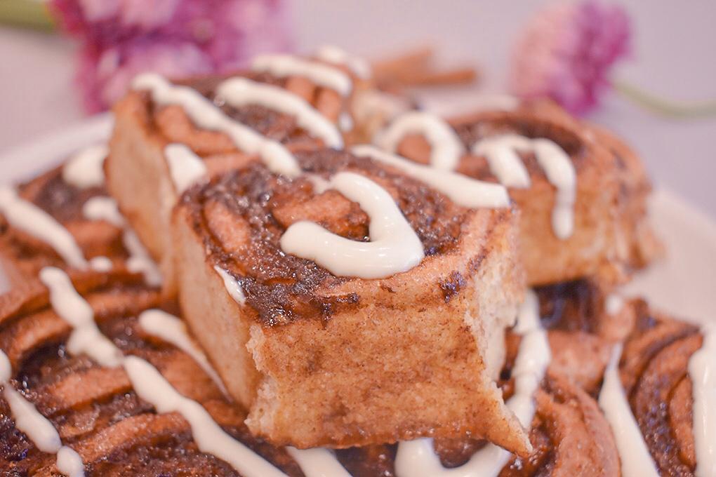 cinnamon rolls integrali