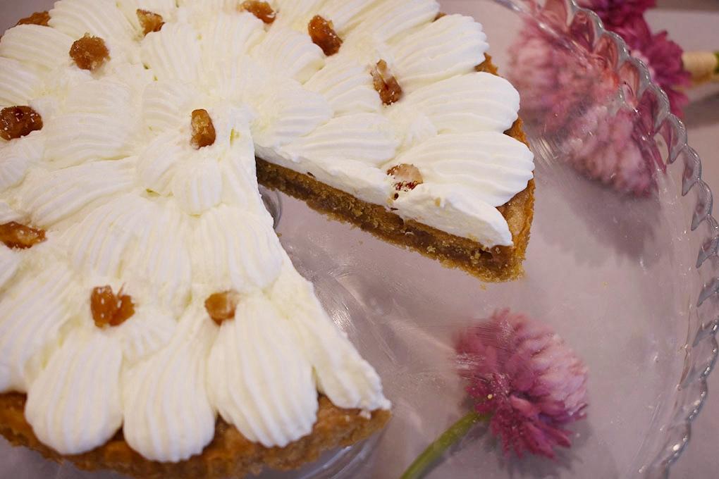 torta frangipane e marron glacé