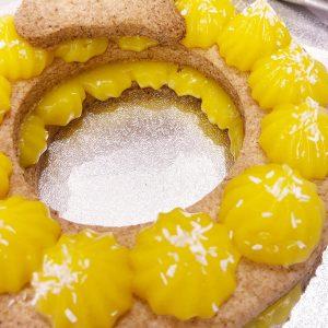 cream tart vegana